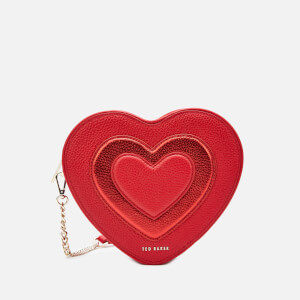 Ted Baker Women's Serera Printed Heart Cross Body Bag - Red