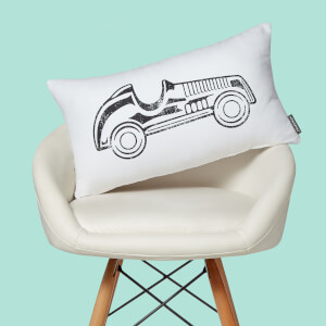 Monopoly Car Rectangular Cushion