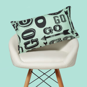 Monopoly Go! Letterpress Rectangular Cushion