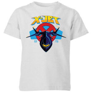 Marvel X-Men X-Jet Kids' T-Shirt - Grey