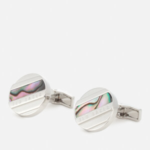 Ted Baker Men's Missed Semi Precious Cufflinks - Light-Green