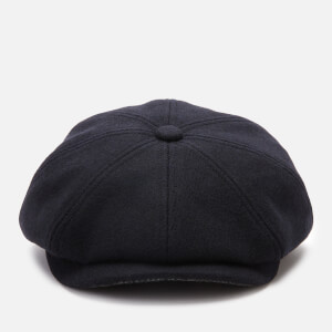 Ted Baker Men's Pallion Wool Baker Boy Cap - Navy