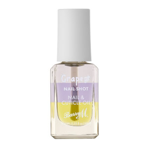 Barry M Cosmetics Nail Shot Nail & Cuticle Oil - Grape Seed
