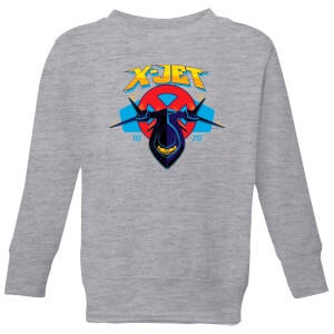 Marvel X-Men X-Jet Kids' Sweatshirt - Grey
