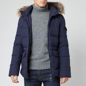 Pyrenex Men's Authentic Matte Fur Jacket - Amiral