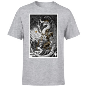 Magic The Gathering Bolas Poster Art Men's T-Shirt - Grey