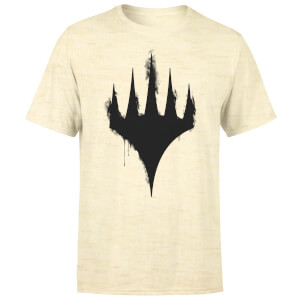 Magic The Gathering Spray Logo Men's T-Shirt - Stonewash