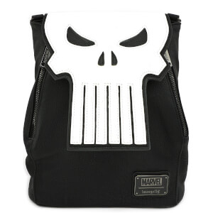 Loungefly Marvel Punisher Skull Mini Backpack