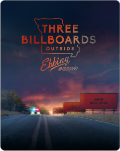 Three Billboards Outside Ebbing, Missouri - Zavvi UK Exclusive 4K UHD Steelbook