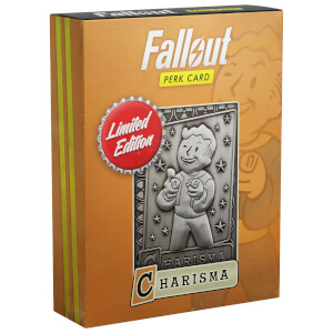 Fallout Limited Edition Perk Card - Charisma (#4 out of 7)
