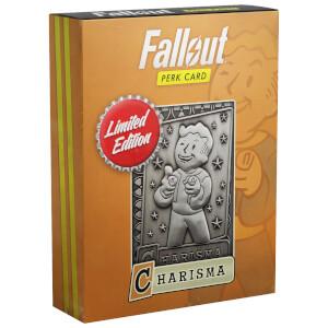 """Carta Talento """"Carisma"""" di Fallout (n. 4 di 7, edizione limitata)"""