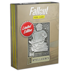 Fallout Limited Edition Perk Card - Intelligence (#5 out of 7)