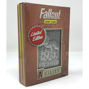 Fallout Limited Edition Perk Card - Agility (#6 out of 7)