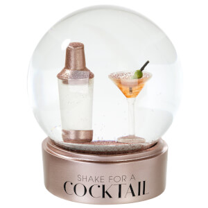 Cocktail Snow Globe