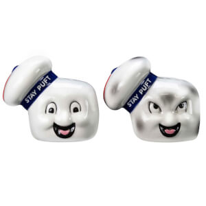 Ghostbusters Stay Puft Salt-and-Pepper Shaker Set