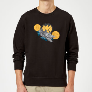 Marvel S.H.I.E.L.D. Helicarrier Sweatshirt - Black