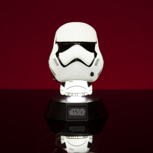 Star Wars First Order Stormtrooper Icon Light