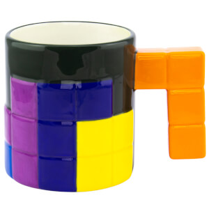 Tetris Shaped Mug