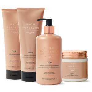 Grow Gorgeous Curl Collection (Worth £83.00)