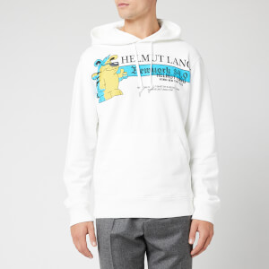 Helmut Lang Men's Pz Radio Hoody - Chalk White