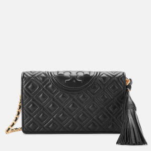 Tory Burch Women's Fleming Wallet Cross Body Bag - Black