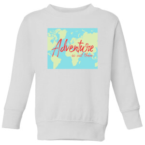Adventure Is Out There Kids' Sweatshirt - White