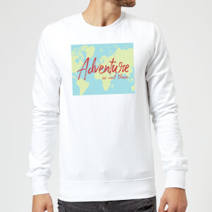 Adventure Is Out There Sweatshirt - White