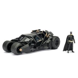 Jada Die Cast 1:24 2008 Batmobile with Diecast Batman