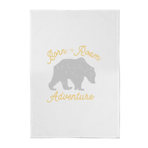 Adventure Born To Roam Cotton Tea Towel