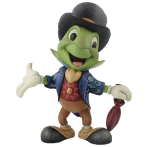 Disney Traditions - Cricket's the Name. Jiminy Cricket (Jiminy Cricket Statement Figurine)