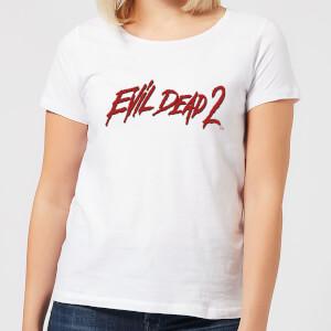 Evil Dead 2 Logo Women's T-Shirt - White