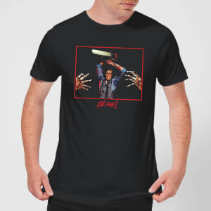 Evil Dead 2 Ash Chainsaw Men's T-Shirt - Black