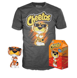 Bundle Pop et Tee Chester Cheetah Glow-In-The-Dark EXC - Cheetos