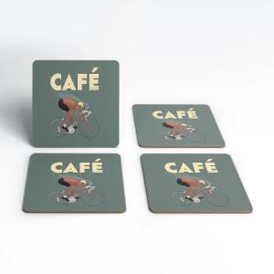 Cafe Racer Coaster Set