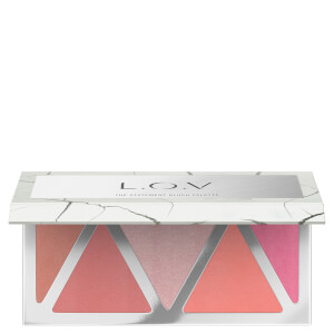 L.O.V. THE STATEMENT Blush Palette