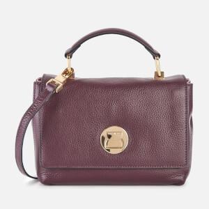 Coccinelle Women's Liya Small Top Cross Body Bag - Plum/Blossom