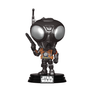 Star Wars The Mandalorian Q9-Zero Funko Pop! Figuur
