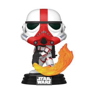 Star Wars The Mandalorian Incinerator Stormtrooper Funko Pop! Figuur