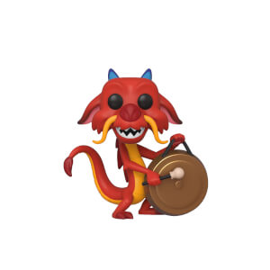 Disney Mulan Mushu with Gong Pop! Vinyl Figure