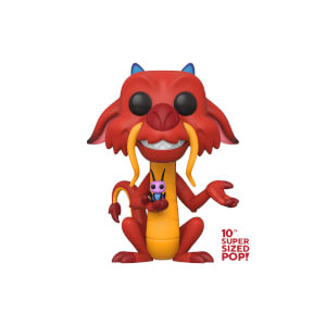 Figurine Pop! Mushu 10 Pouces - Disney Mulan