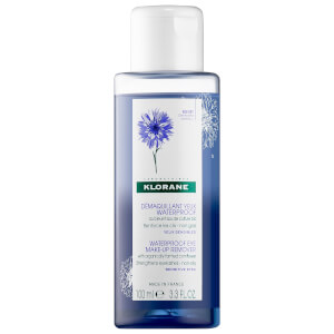 KLORANE Waterproof Eye Make-Up Remover With Organically Farmed Cornflower 3.3 fl. oz