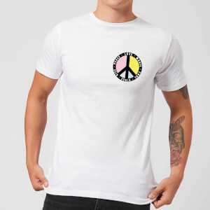 Peace Sign Men's T-Shirt - White
