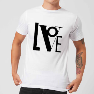 Love Men's T-Shirt - White