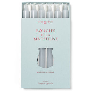 Cire Trudon Bougies De La Madeleine Unscented Dinner Candles - Grey (Set of 6)