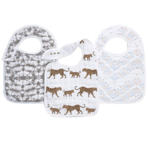 aden + anais Snap Bibs - Hear Me Roar (3 Pack)