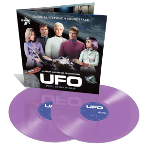 UFO: Original TV Soundtrack 2x Colour LP