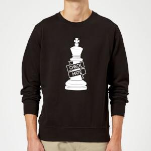 King Chess Piece Sweatshirt - Black