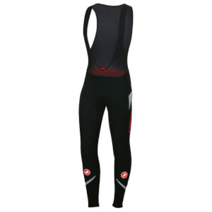 Castelli Polare 2 Bib Tights - Black/Reflex