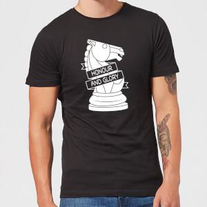 Knight Chess Piece Men's T-Shirt - Black