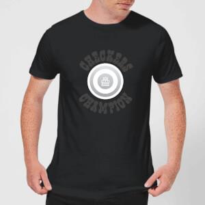 Checkers Champion White Checker Men's T-Shirt - Black